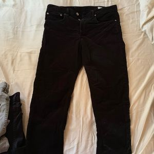 rag and bone fit 2 slim corduroy pants size 32